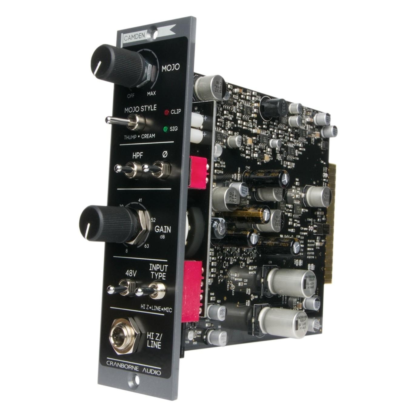 Cranborne Audio Camden 500 Preamp And Signal Processor Giraffe Circuits Microphone Amplifier New