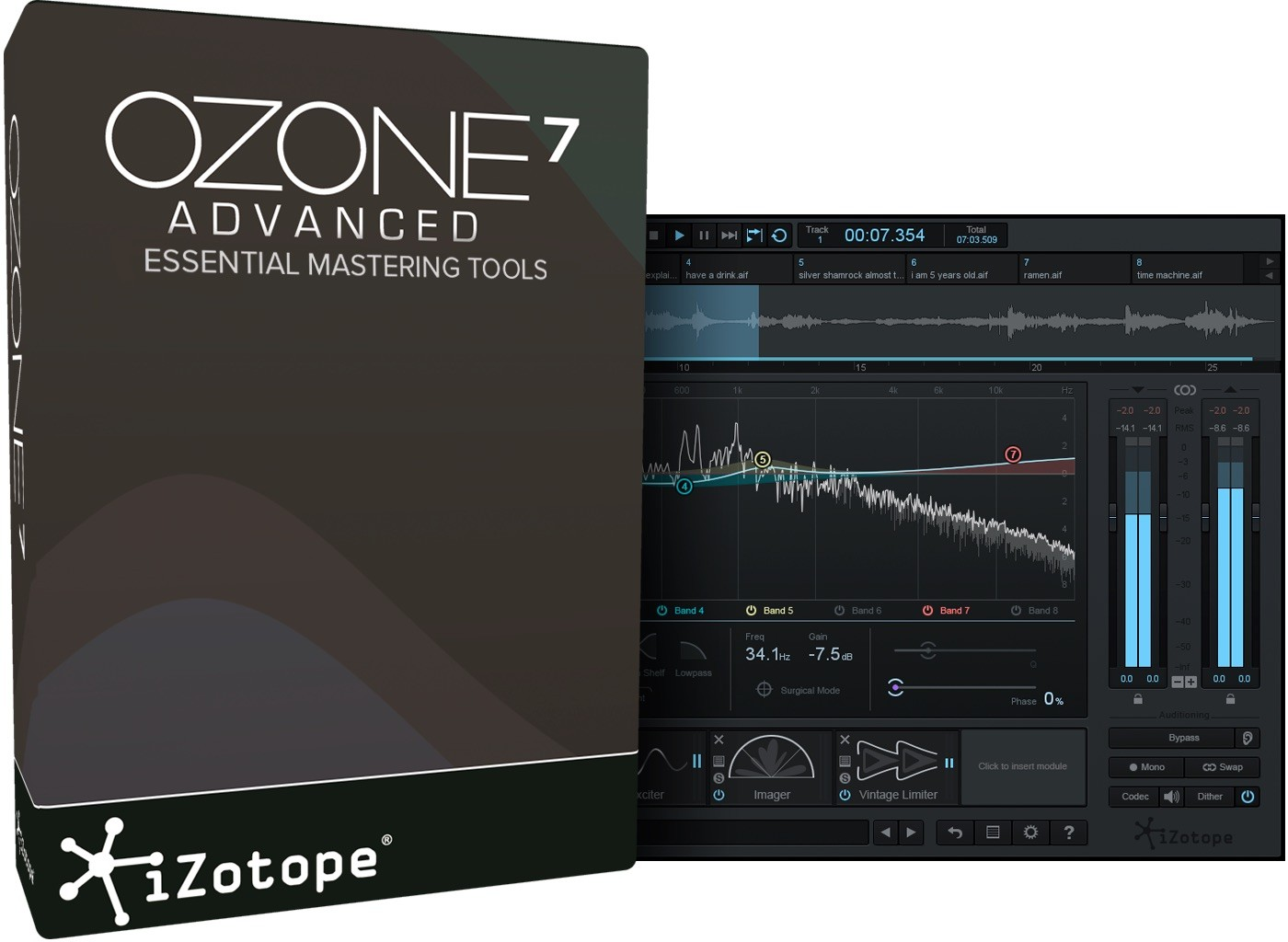 iZotope Ozone 7 Advanced Download Code