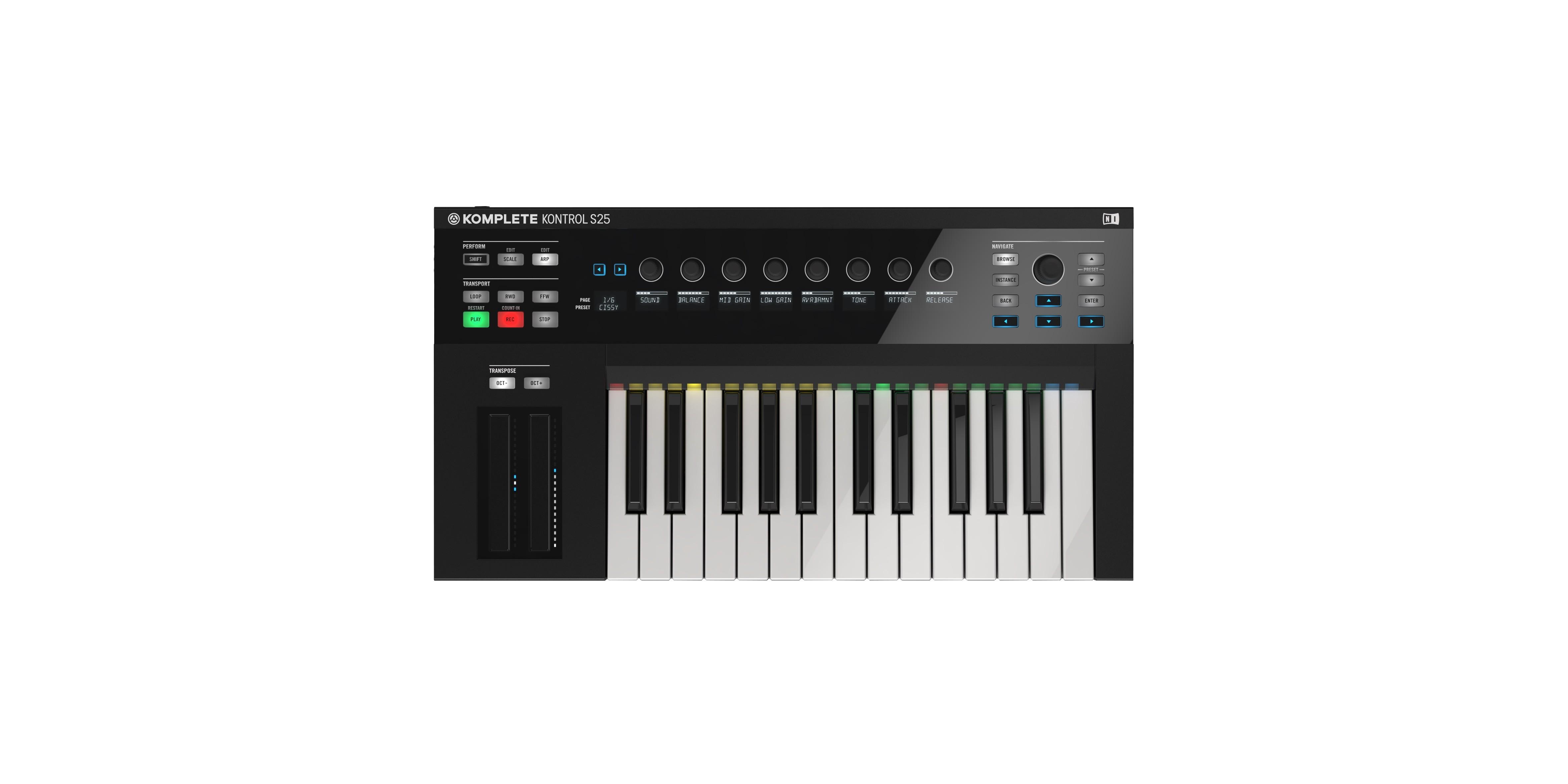 Native Instruments Komplete Kontrol S25 Keyboard | Giraffe Audio