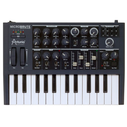 Arturia Microbrute front above