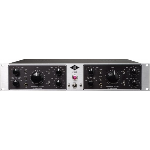 Universal Audio 2-610S Dual Tube Mic Preamp