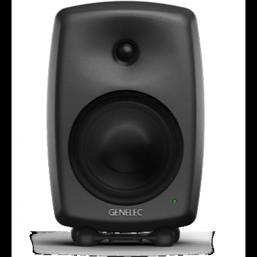 Genelec 8240A Compact DSP 2-way Active Monitor (Matt Black) front