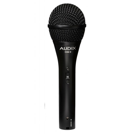 Audix OM3S Dynamic Microphone with switch
