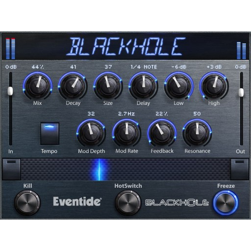 Eventide Blackhole Native Reverb screen shot