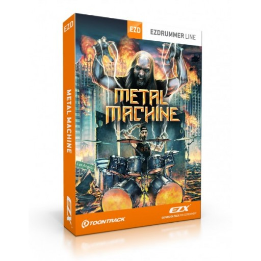 Toontrack EZX - Metal Machine