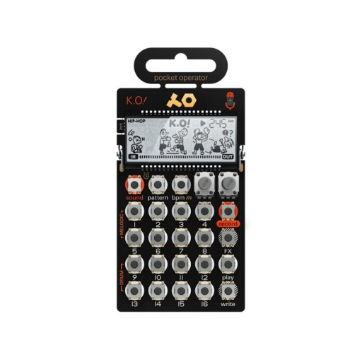 PO-33 Front