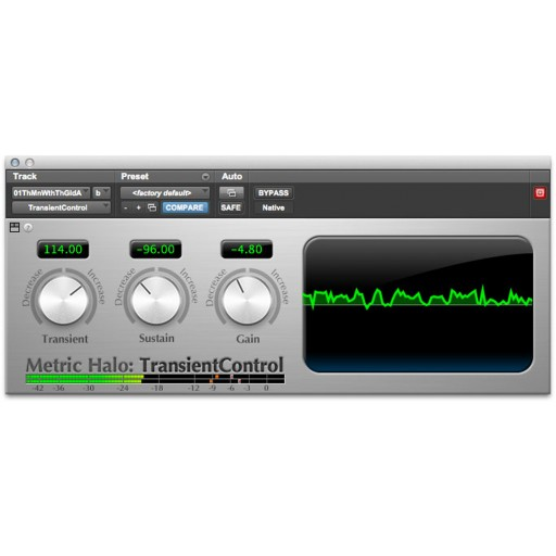 Metric Halo Transient Control Plug-In
