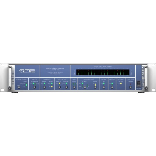 RME M-16 DA 16 Channel MADI/ADAT to Analog converter