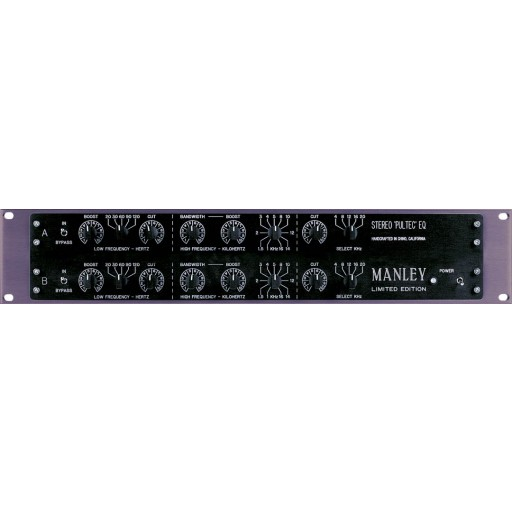 Manley Labs Enhanced Stereo Pultec EQP-1A's Equaliser