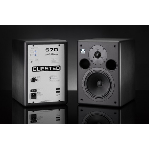 Quested S8R Active Studio Monitor side