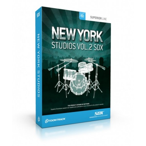 Toontrack SDX: New York Studios Vol 2