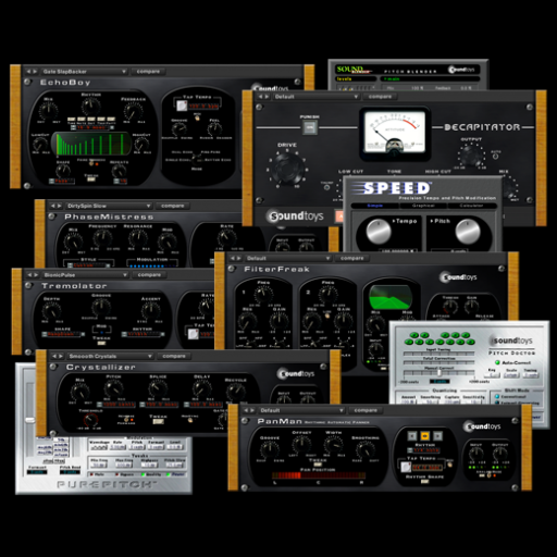 Sound Toys FX TDM V4 Bundle