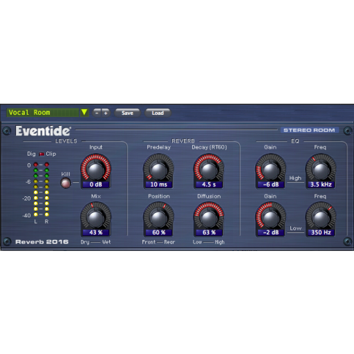 Eventide 2016 Stereo Room screen shot