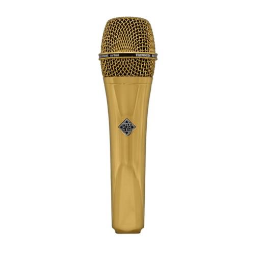 Telefunken M80 Dynamic Microphone - Gold Finish