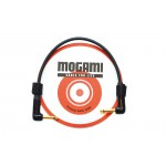 Mogami 0.25m Patch Cord with Neutrik Black and Gold Jacks (both angled)  (2524)