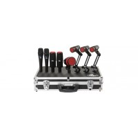 Heil HDK-8 8-Piece Drum Microphone Set