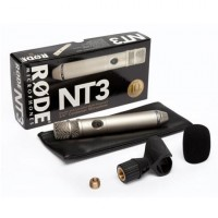 "Rode NT3 3/4"" Condensor Microphone kit"