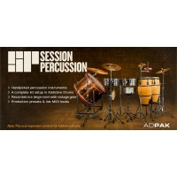 XLN Session Percussion ADPAK ad screenshot