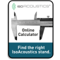 IsoAcoustics Modular Calculator