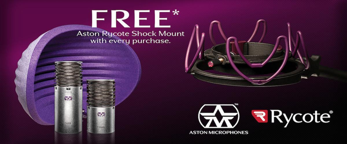 Aston Microphones Free Rycote