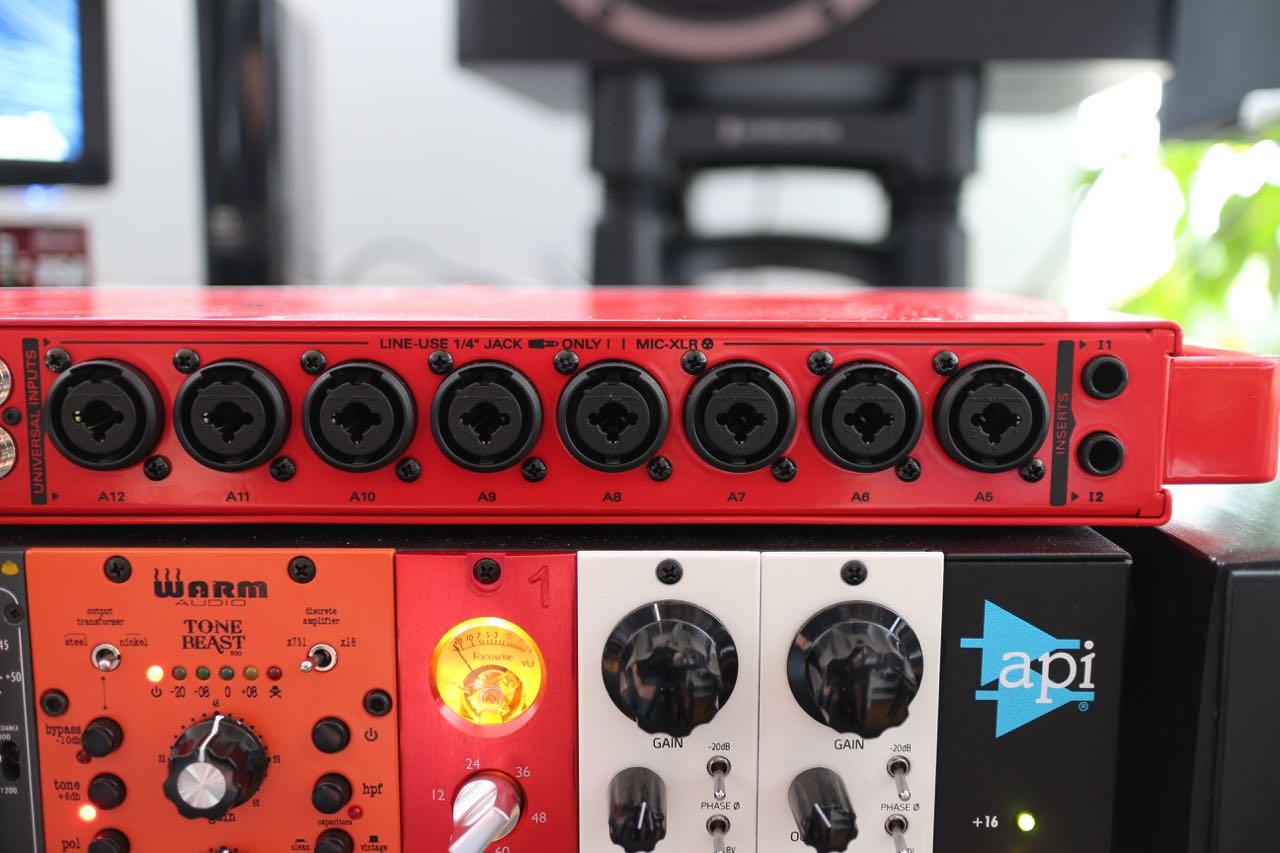 Zen Studio Rear Microphone Inputs