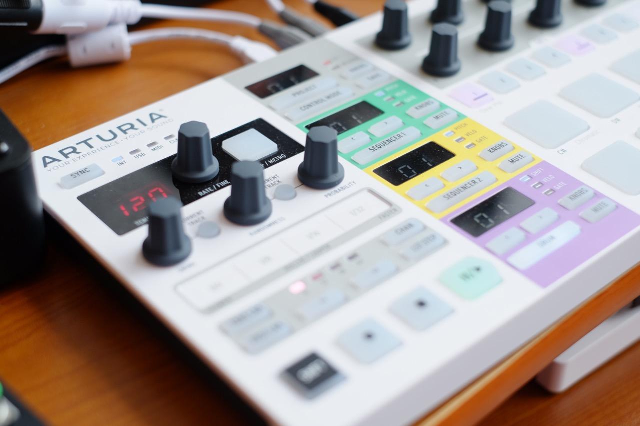 Beatstep Pro Angled
