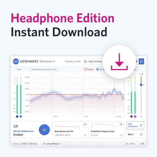 Sonarworks Headphone Edition (Download Version)