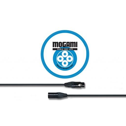 Mogami 3m XLRF - XLRM Mic Cable with Neutrik Black and Gold XLR (2534)