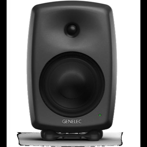 Genelec 8240A Compact DSP 2-way Active Monitor (Matt Black) front