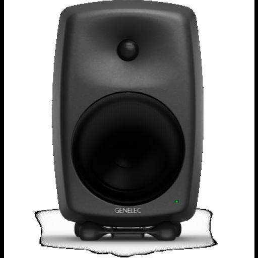 Genelec 8250A Compact DSP 2-way Active Monitor (Matt Black) front