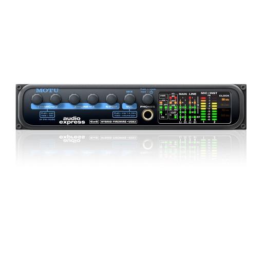 MOTU Audio Express Front