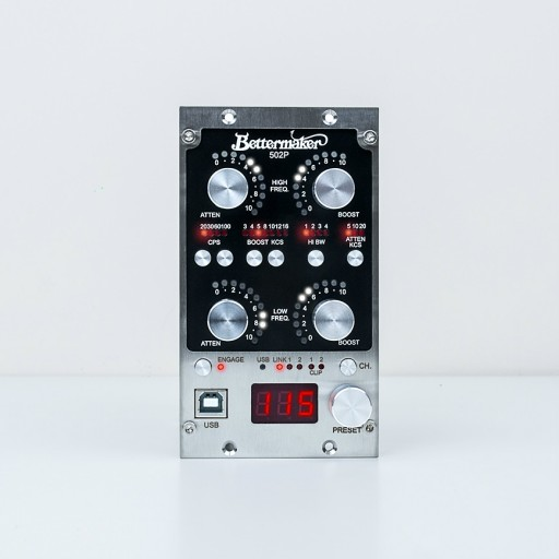 Bettermaker EQ502P 500-Series Equalizer
