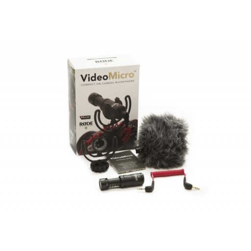 Rode Videomicro pack shot