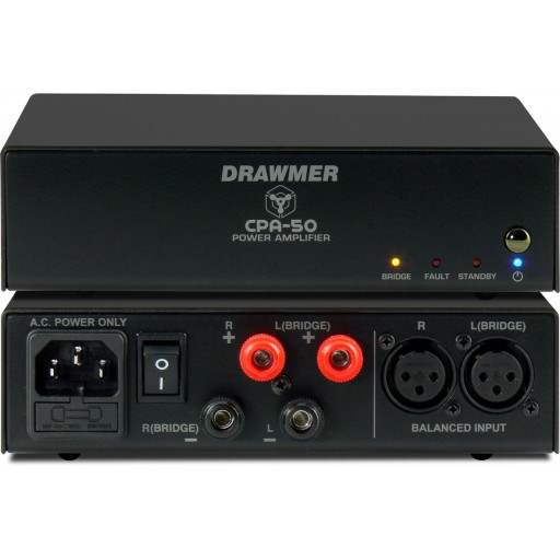 Drawmer CPA50 Front and Rear