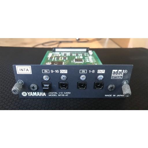 Yamaha MY16-AT Optical Card for Digital Desks - Used