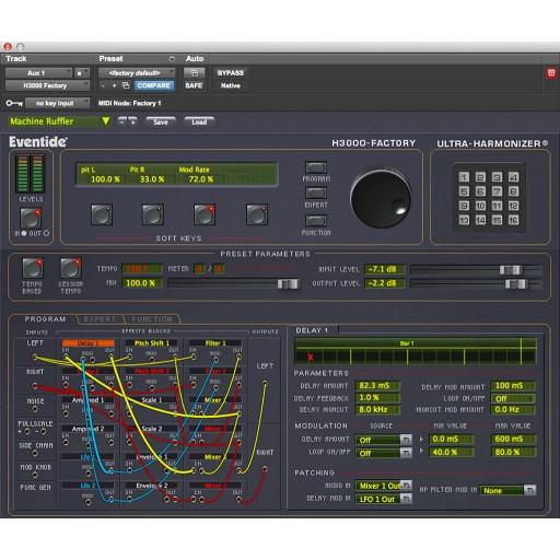 Eventide H3000 Factory Ultra-Harmonizer Native screen shot