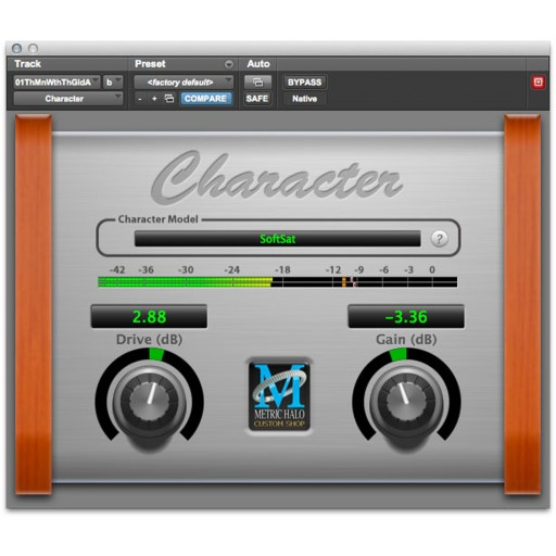 Metric Halo Character Plug-In