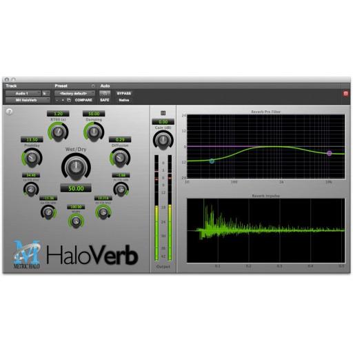 Metric Halo HaloVerb Plug-In
