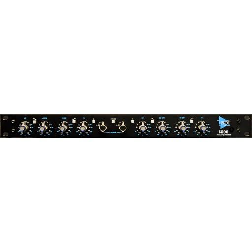 API 5500 Stereo/Dual Mono 550 EQs front