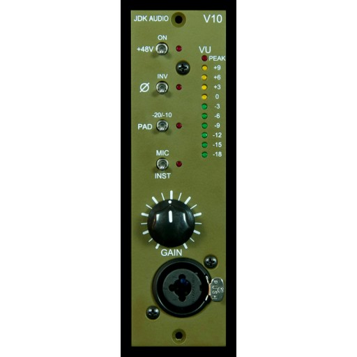 JDK V10 Single Channel Mic Pre