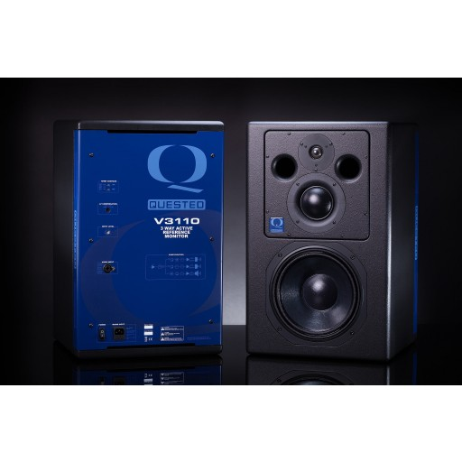 Quested V3110 Active Studio Monitor side