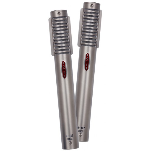 Royer R-122 MKIIL-MP Matched Pair of Active Ribbon Live Microphones