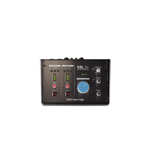 SSL 2+ 2-In/4-Out USB Audio Interface