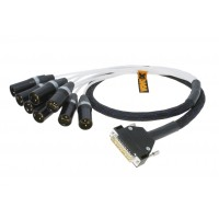 VOVOX mucolink direct SD balanced multipair DSUB cable DB25 / 8 x XLR-M 1m (6.2202)