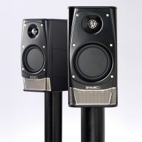 PMC AML2 Studio Reference Monitors front and angled