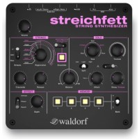 Waldorf Streichfett String Machine above