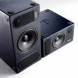 PMC Twotwo.5 Studio Reference Monitors front upright and horizontal angle white background